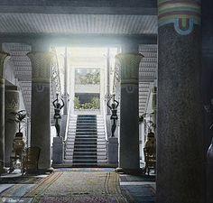 Shepheard's Hotel; The Main Hall - Cairo In 1900 | Flickr - Photo Sharing!