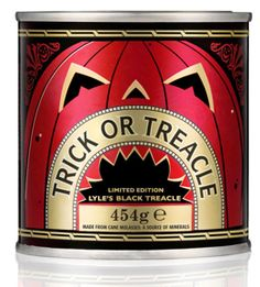 Trick or Treacle : LYLE'S RELEASES HALLOWEEN PACKAGING