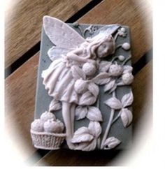 Silicone soap mold / soap mold / chocolate by colorfulhandmademold, $8.55