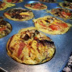 Done! Hope my #savorycupcakes or #muffins taste as good as they look ♡ #Amman #Jordan #cooking #eggs #vegetablesmix