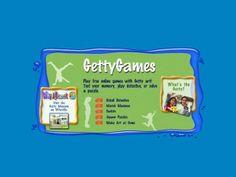 Getty Games screen shot