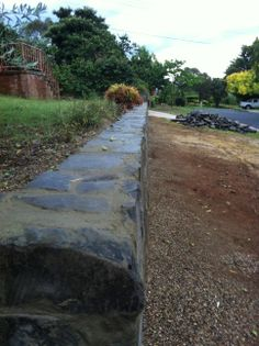 Most Popular river stone retaining wall ideas Retaining Wall Design, Stone Retaining Wall, Landscaping Retaining Walls, Office Wall Paints, Raised Garden Beds, Raised Bed, Teal Accent Walls, Mermaid Wall Decals, Exterior Wall Design