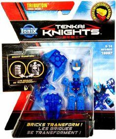 Amazon.com: Tenkai Knights Transforming Brick Minifigure #10002 Tributon [Tenkai Knight]: Toys & Games