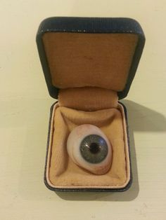 Vintage Mager & Gougelman Prosthetic Human glass Eye  $125