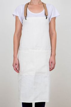 French Linen Apron : Girl & Graaf