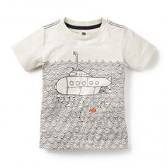 Submarine Graphic T-Shirt for Little Boys | Tea Collection