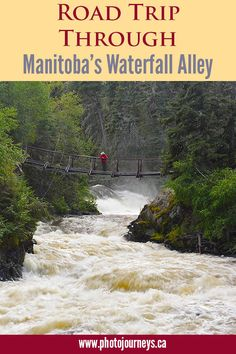 Three of Manitoba's amazing waterfalls are easy to access along major roads in the northwest. Ireland Vacation, Ireland Travel, Galway Ireland, Cork Ireland, Places To Travel, Places To See, Canadian Travel, Road Trip Adventure, Visit Canada