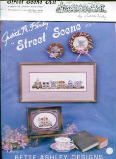 "1980s Victorian Houses Counted Cross Stitch Kit 3.5"" x 14"" Judith Kirby Street Scene Vol 1 Leaflet 15 Bette Ashley Designs by PengyPatterns on Etsy"