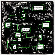 New Origins: Make Black Out Poetry, Black Out Poetry, Poetry