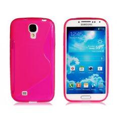 Glossy Hybrid Pink Samsung Galaxy S4 Case