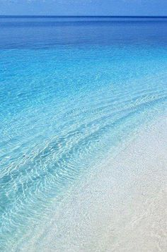 Stelida Beach at Naxos Island in Greece....love the shades of blue.