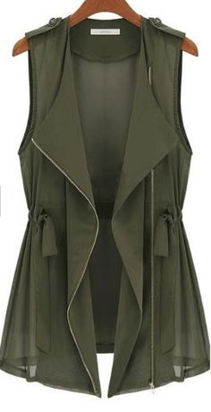 OD green vest! I need this!