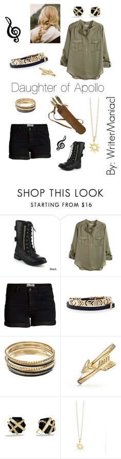 """The Dark and the Light"" by writermaniac1 ❤ liked on Polyvore featuring Refresh, H&M, Pieces, House of Harlow 1960, Jennifer Lopez, Bling Jewelry, David Yurman and MAC Cosmetics"