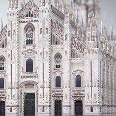 Italia Catedral de Milán,Arquitectura,Arte de papel,Patrimonio de la Humanidad,Edificio,Catedral,Italia