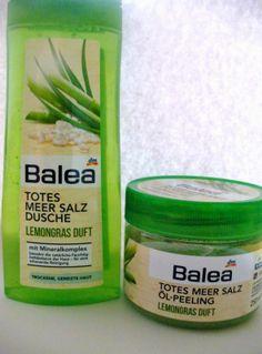 Mein Beauty & Lifestyle Blog für die Frau ab 40: Balea TOTES MEER SALZ ÖL- PEELING