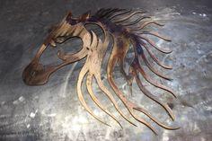 #horse #patina #metalsign #sign #missmetalworx #metalworxinc #notmadeinchina