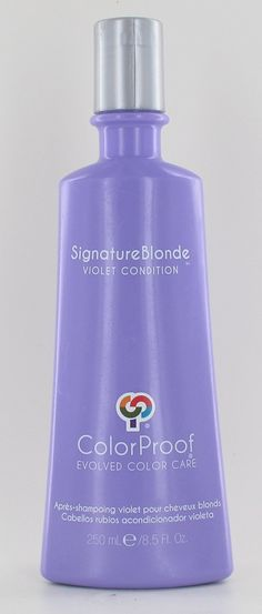ColorProof Signature Blonde Violet Conditioner - 8.5 oz * This is an Amazon Affiliate link. You can get additional details at the image link.