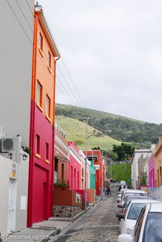 A Colourful Stroll Through Bo-Kaap Cape Town via christineknight.me