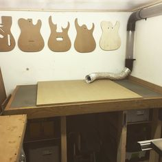 Something pretty exciting is going to be here in a few days. #CNC #inventables #xcarve #guitarbuilder by lee_stemguitars