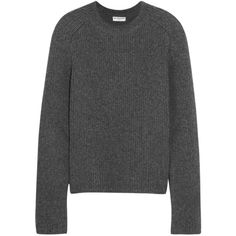 Balenciaga Chunky-knit cashmere sweater (3.910 BRL) ❤ liked on Polyvore featuring tops, sweaters, balenciaga, jumpers, cashmere sweater, balenciaga sweater, wool cashmere sweater, cashmere tops and chunky knit sweater