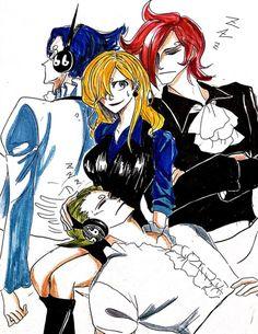 One Piece, Vinsmoke family, Sanji (fem), Ichiji, Niji, Yonji