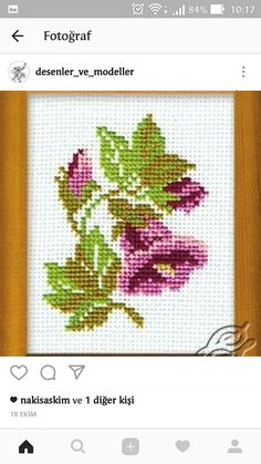 Cross stitch supplies from Gvello Stitch Inc. Hundreds of cross stitch products available delivered world-wide at affordable prices. We sell cross stitch kits, needles, things you need to make beautiful cross stitch designs. Tiny Cross Stitch, Simple Cross Stitch, Cross Stitch Borders, Cross Stitch Flowers, Cross Stitching, Cross Stitch Embroidery, Embroidery Patterns, Cross Stitch Patterns Free Easy, Cross Stitch Designs