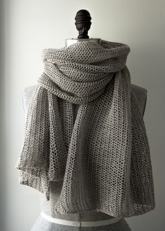 Open Air Wrap in Linen Quill