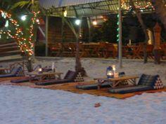 Ambiente nocturno en la isla de Koh Samed