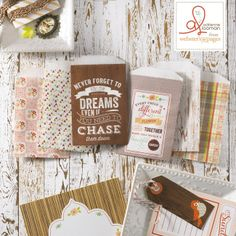 {NEW!} Webster's Pages ~ CHA Summer 2013 New Release ~ Family Traditions by Adrienne Looman ~ Mini Envelopes!!