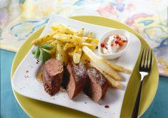 Spargel-Curry mit Lamm.