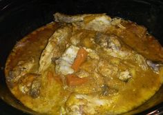 Crockpot curried coconut chicken Recipe -  How are you today? How about making Crockpot curried coconut chicken?