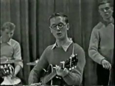 """Jimmy Page 13 Yrs-Old on BBC April 6, 1957 """"Mama Don't Want To Me To Pla..."""