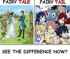 Fairy tale vs Fairy Tail