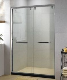 sliding glass shower door Frameless Sliding Shower Doors, Glass Shower Doors, Tall Cabinet Storage, Divider, Furniture, Bathroom, Home Decor, Washroom, Decoration Home