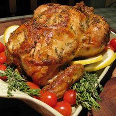 Dragon's Kitchen: Roast Chicken With Lemon & Herbs