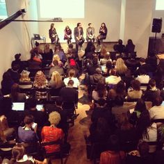 Agency panel at Curalate's Marketing Without Words conference