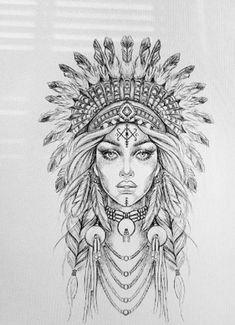 Trendy Ideas Tattoo Sleeve Ideas Drawings Faces - - # cover tattoo old school tattoo arm tattoo tattoo tattoos tattoo antebrazo arm sleeve tattoo Tattoo Design Drawings, Art Drawings Sketches, Tattoo Sketches, Drawing Tattoos, Face Drawings, Full Sleeve Tattoos, Tattoo Sleeve Designs, Girls With Sleeve Tattoos, Tattoo Sleeves