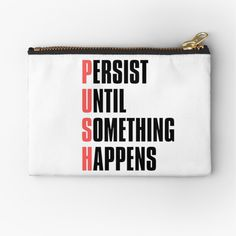 Cotton Tote Bags, Zipper Pouch, Zip Around Wallet, Motivational, Coin Purse, Shit Happens, Printed, Awesome, Products