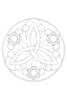 coloring pages of pagans | Vijver Mandala