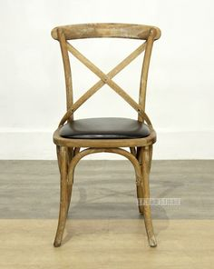 CROSS BACK Oak Dining Chair *Black PU , Commercial & Cafe, NZ's Largest Furniture Range with Guaranteed Lowest Prices: Bedroom Furniture, Sofa, Couch, Lounge suite, Dining Table and Chairs, Office, Commercial & Hospitality Furniturte