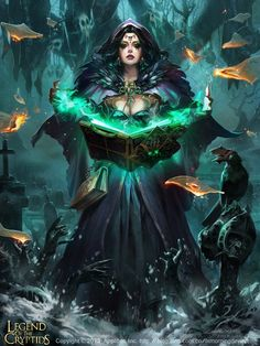 Liang Xing is a Chinese artist who created the stunning fan art of Legend Of the Cryptids.
