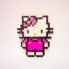 Hello Kitty perler beads by mrsperler