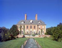 Darlington Hall, Georgian style mansion, upstate New York
