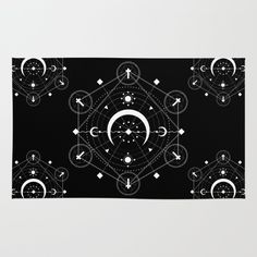 Half+Moon+(Day)+Rug+by+TINTED+MOTIF+-+$28.00