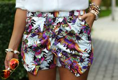 There is 0 tip to buy multicolor, cute shorts, stylist. Help by posting a tip if you know where to get one of these clothes. Floral Shorts, Boho Shorts, Casual Shorts, Short Outfits, Short Dresses, Summer Outfits, New Fashion Trends, Cute Shorts, Printed Shorts