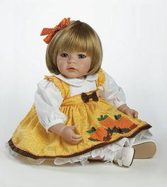 Baby porcelain doll, Sandy (Adora Dolls).