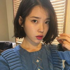 65 popular short hairstyles for fine thin hair (+ 3 tips for crazy volume) 8 Iu Short Hair, Ulzzang Short Hair, Korean Short Hair, Ulzzang Girl, Thin Hair, Hair Inspo, Hair Inspiration, Moon Lovers Scarlet Heart Ryeo, Kim Chungha