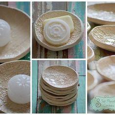Salieron nuevas Jaboneras / Porta Velas / Porta saquito de Té / Porta... Qué otro uso se te ocurre?  #ceramica  #home #deco #sofipocetticeramica