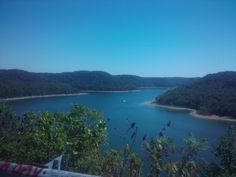 view of Center Hill Lake in middle Tennessee (Lakeside Resort)