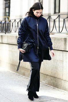 Street looks à la Fashion Week automne-hiver 2016-2017 de New York   Vogue